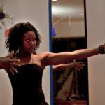 Portugal, Amadora, Alto da Cova da Moura. 2010. Whassysa Magelhães trains with her dance company.