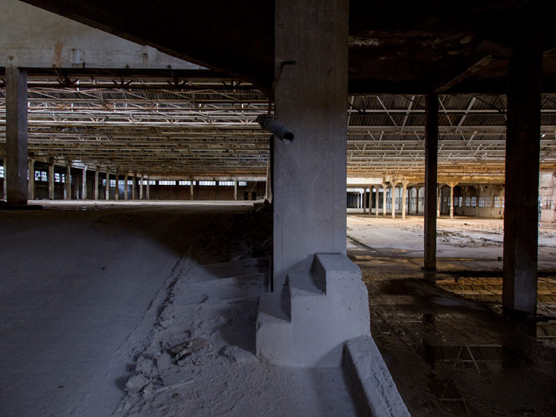 Portugal, Beira Litoral, Coimbra, 2014. Abandoned food plant 'Ceres'.