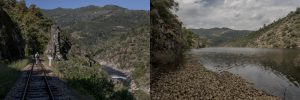 Portugal, Alto Douro, near São Lourenço. Two images stacked together to make it easier to spot the dramatic differences. The first was taken on 21 May 2010 and the second on 26 May 2017.